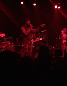 Chronixx and Zinfence Redemption at Irving Plaza NYC June 2015