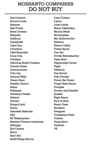 Boycott these brands and companies.  There are better, non-gmo alternatives anyway!