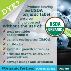 USDA Organic Label Means a LOT!!