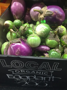 Really Nourish Whole Foods Local Organic Eggplant