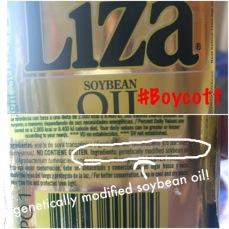 Liza Soybean Oil GMO Trinidad